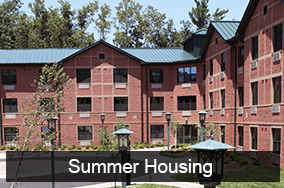 Summer Housing Information
