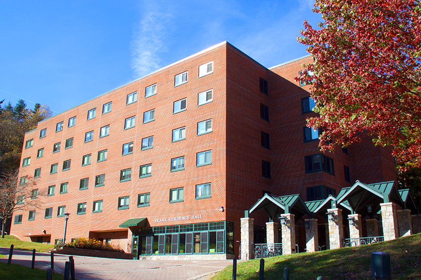 Frank Hall University Housing