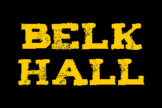 Belk Hall Name Block